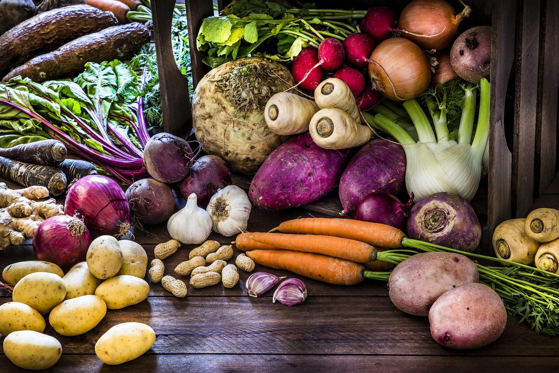 Thực phẩm tốt cho người bệnh trĩ - các loại củ