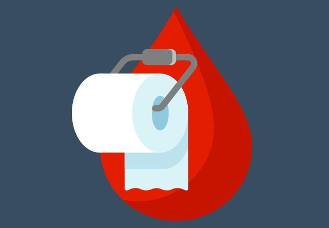 Bệnh trĩ chảy máu thường xuất hiện khi đi đại tiện
