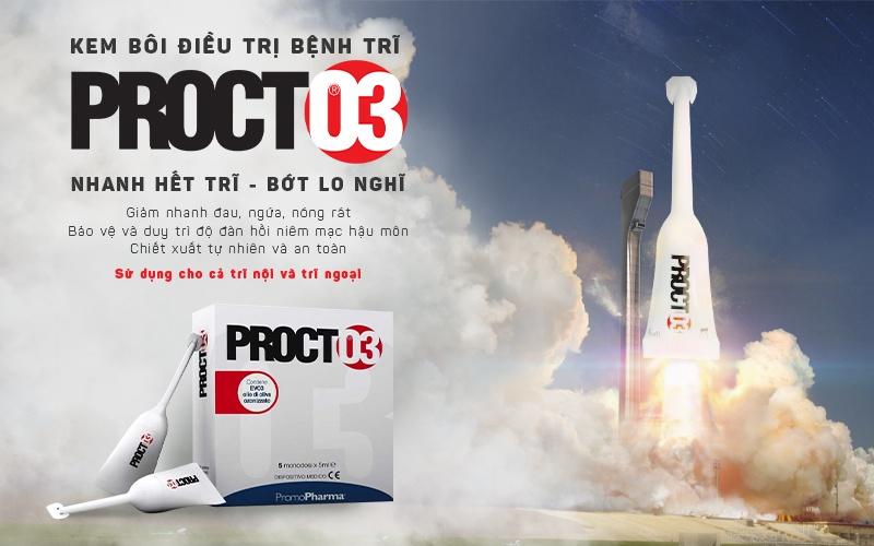 Procto3 - Kem bôi điều trị bệnh trĩ