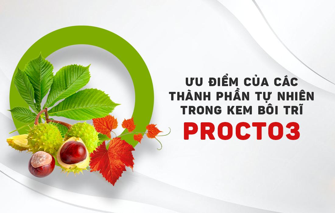 kem bôi trĩ Procto3